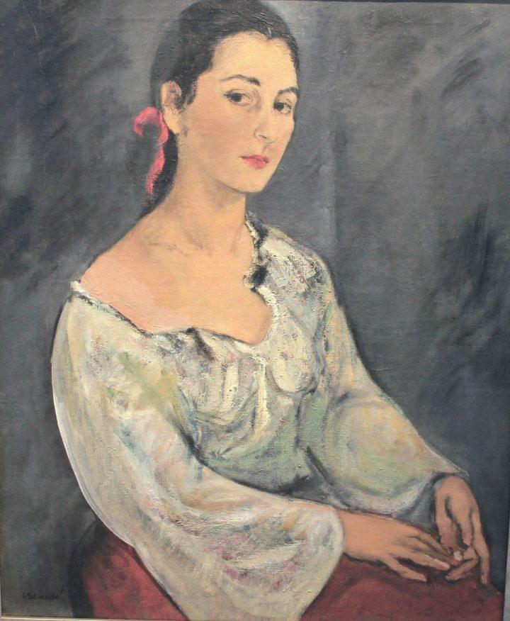 Self Portrait Paris 1927 oil on canvas