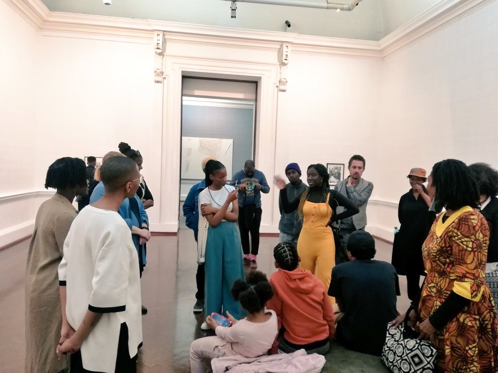 Walkabout and counting exhibition 2019 Johannesburg Art Gallery Tshego Mabaso