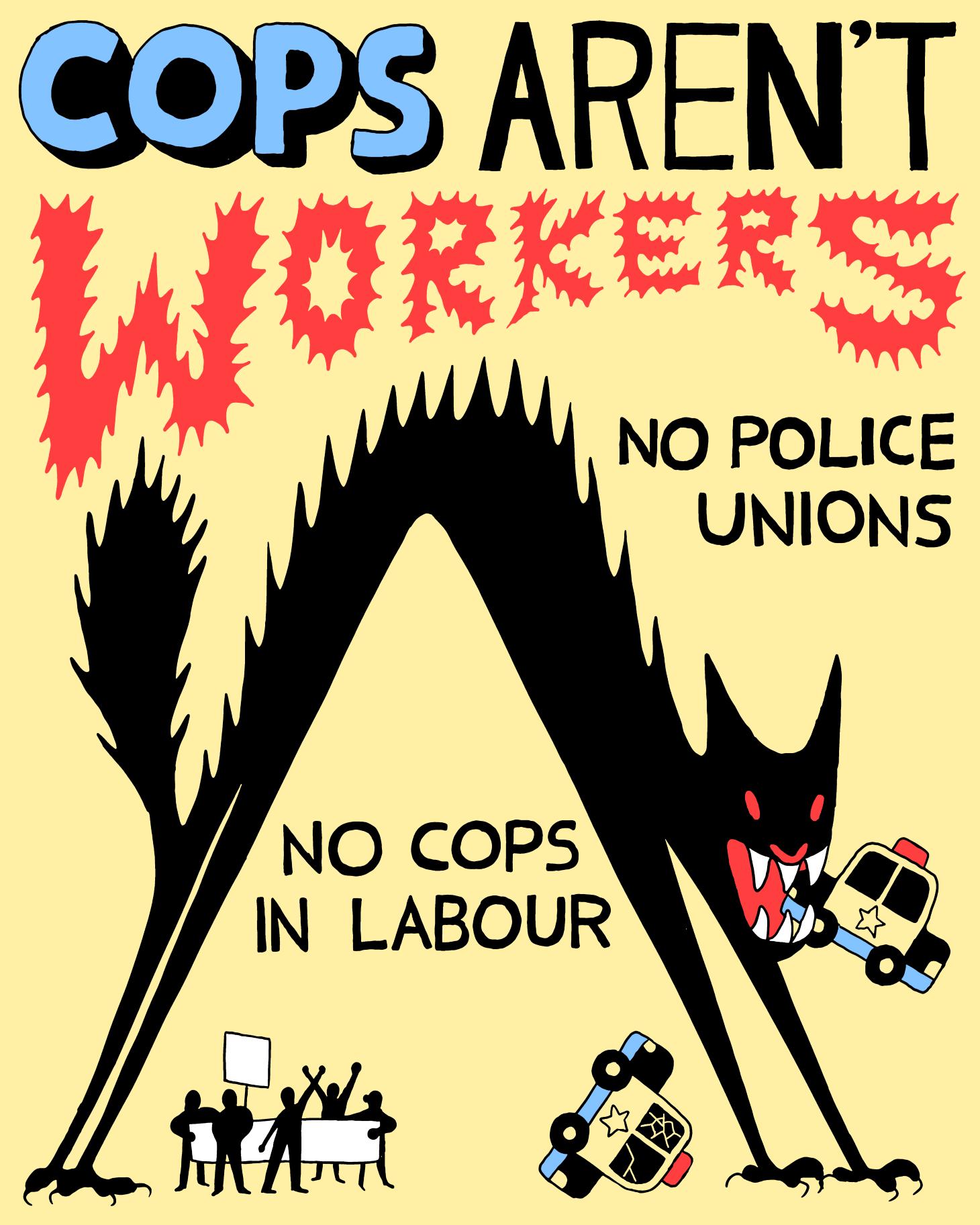 cops arent workers