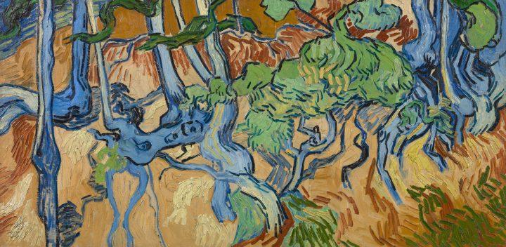 """Van Gogh, """"Tree Roots"""" (1890) (Coleção: Van Gogh Museum, Vincent van Gogh Foundation)"""