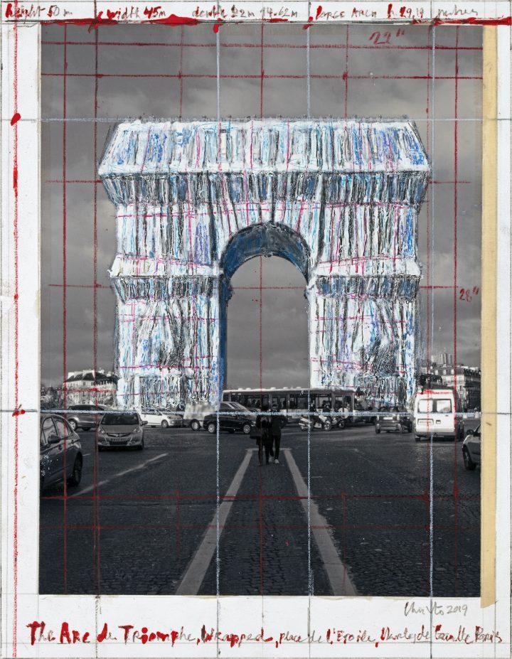 Christo Arc de Triomphe notes