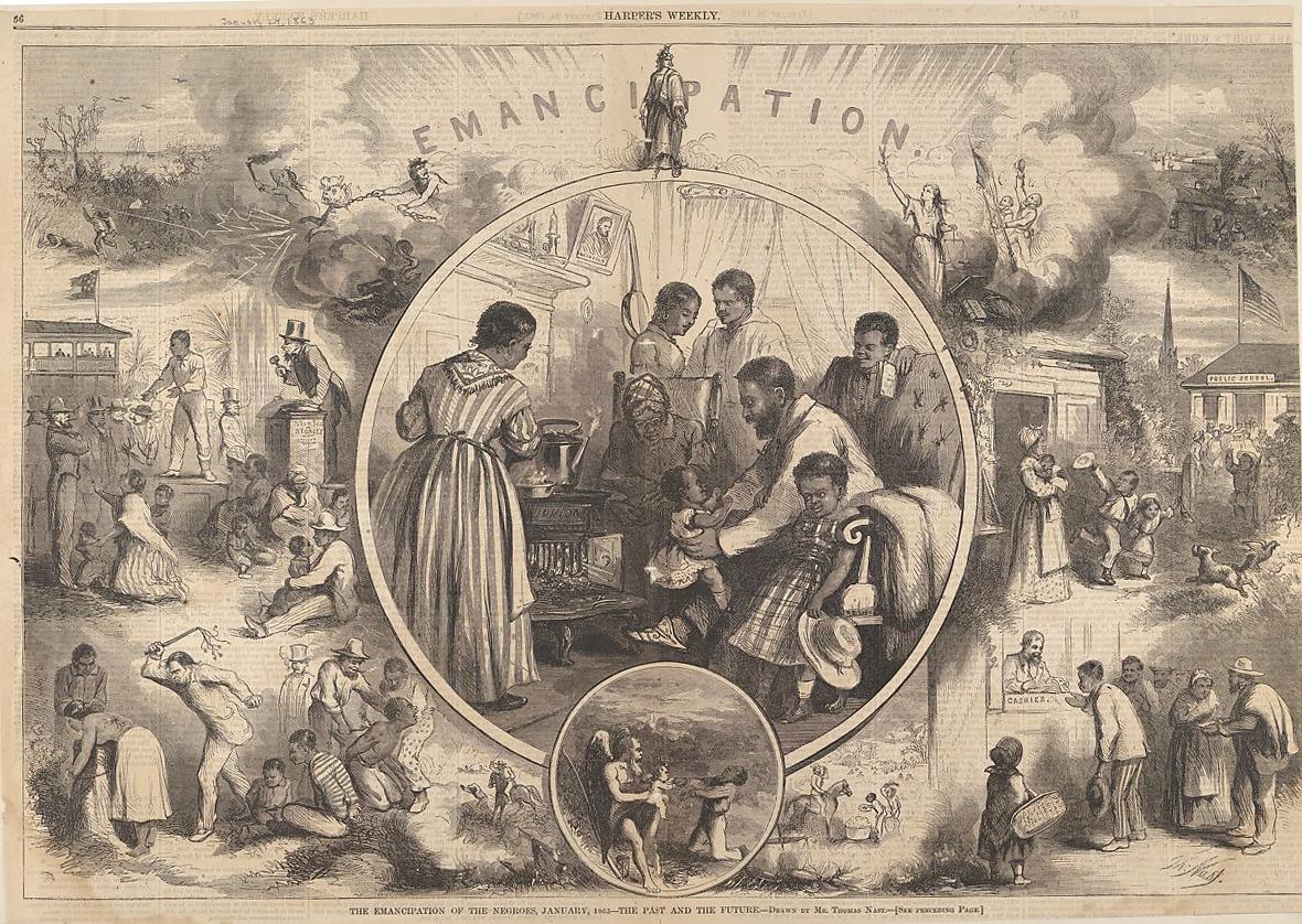 Harpers Weekly emancipation
