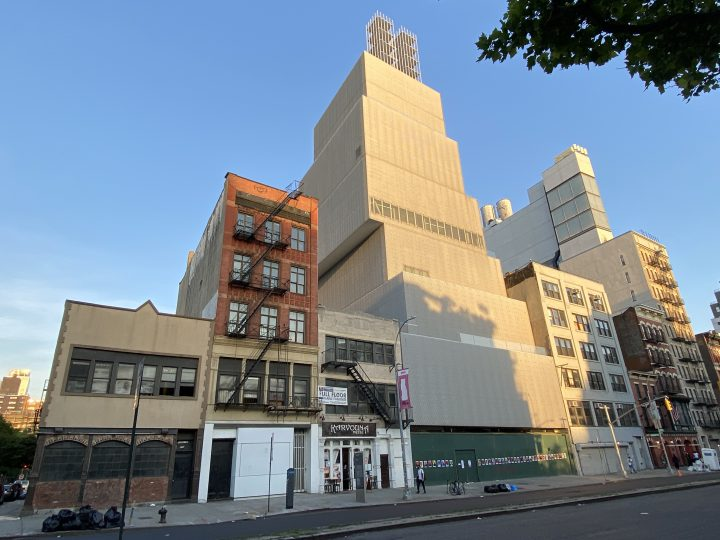 The New Museum in New York (photo by the author for Hyperallergic)