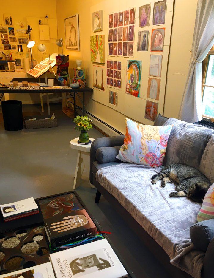 Marcie Jan Bronstein Studio Maine