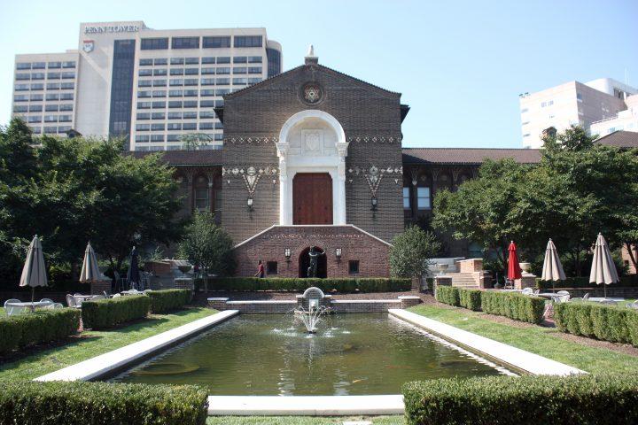 Penn Museums Warden Garden and Main Entrance Summer 2012