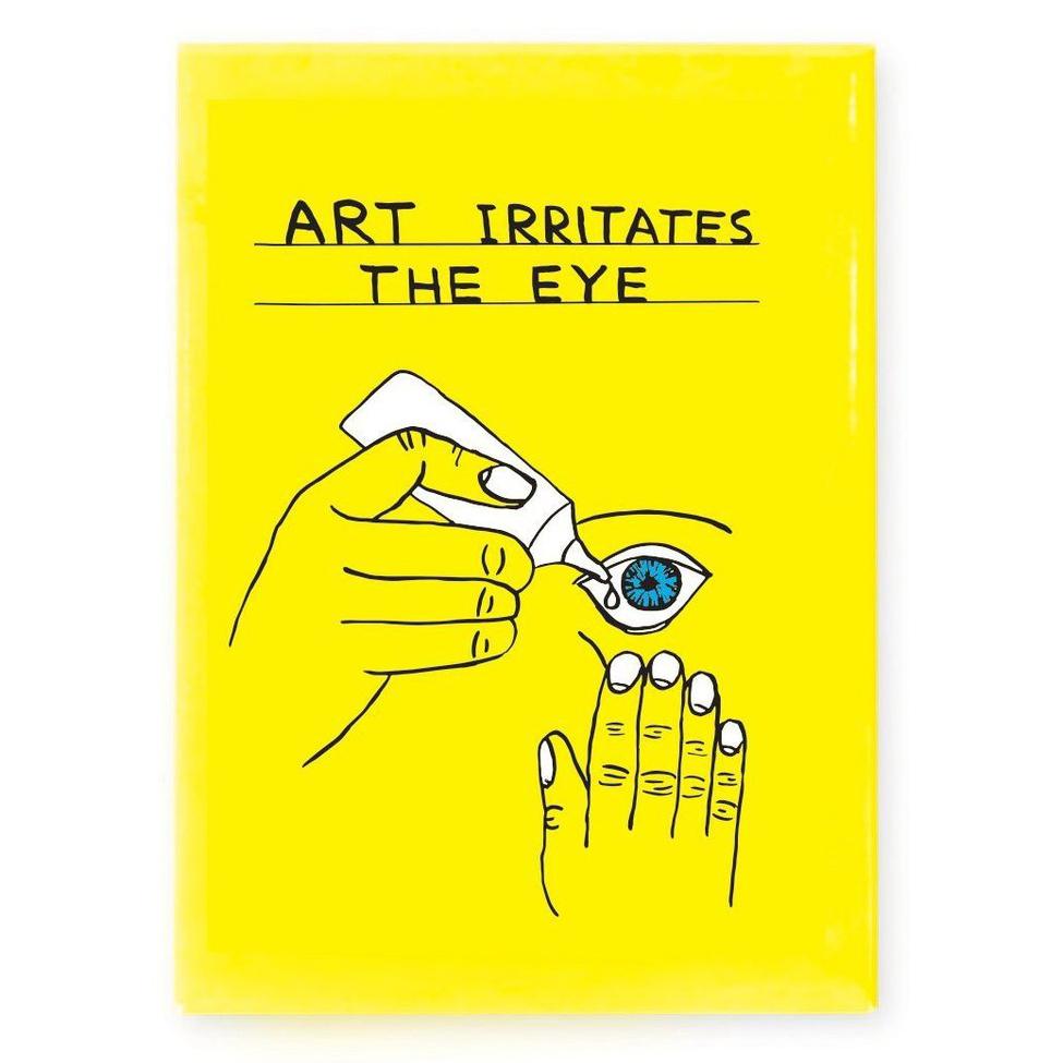 Shrigley  David Art Irritates Magnet Third Drawer Down Web 1050x 67b65869 f03c 42e1 aeb4