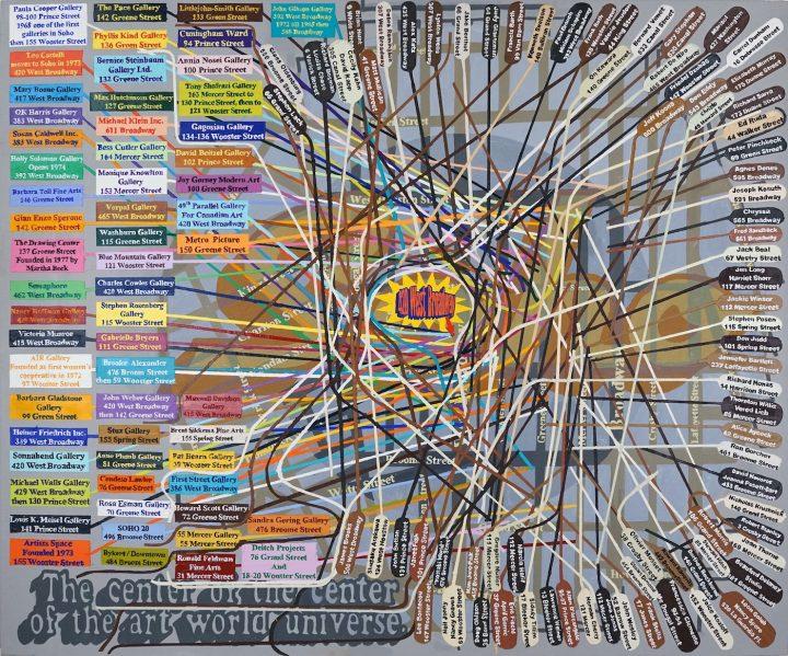 SoHo the Center Of the Center...2004 06 60x72 copy
