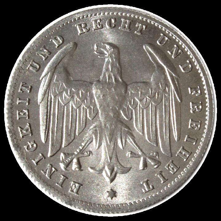 Weimarer Republik 500 M 1923 A 74 b