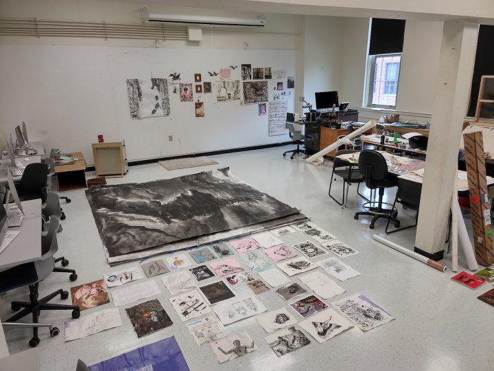 ETSU residency Studio space 2
