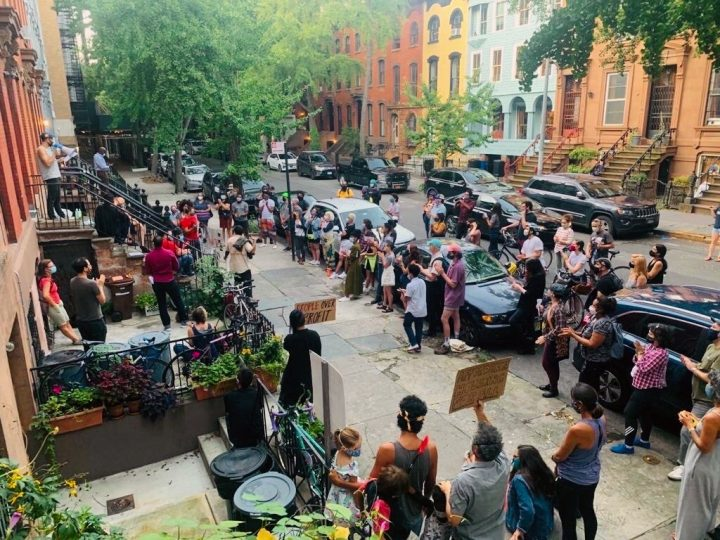 Brooklyn Community Rallies After Collective Alleges Landlord Harassment