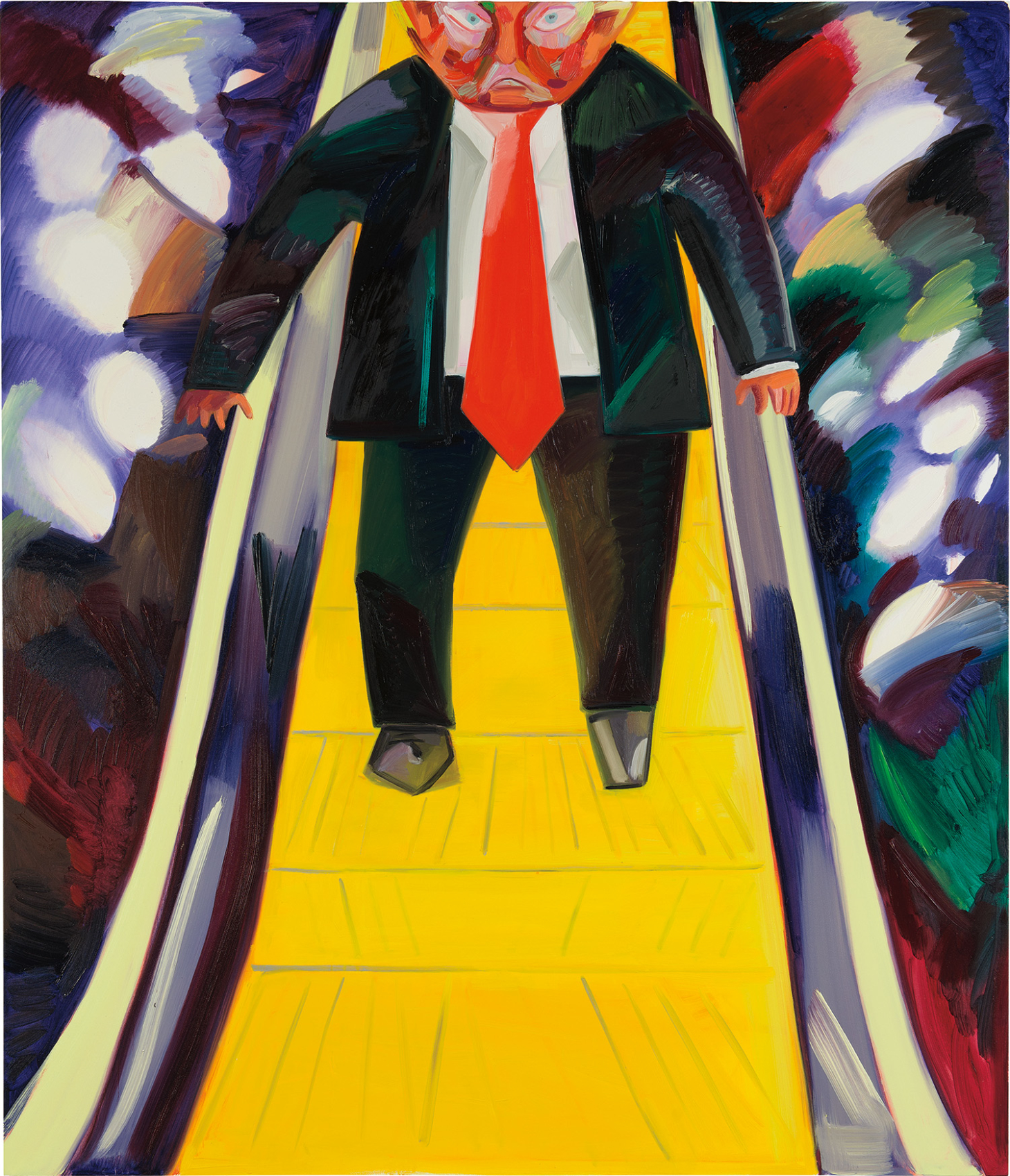 A Dana Schutz Portrait of Trump Just Sold For More Than 1,000