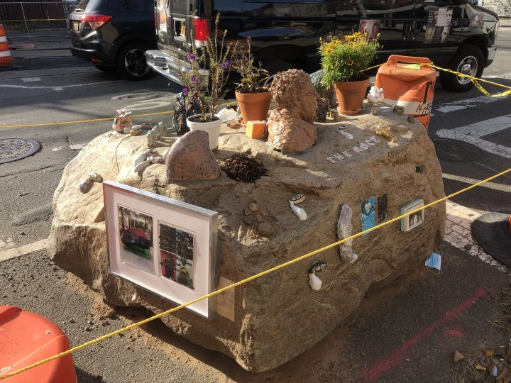 In Brooklyn, an Artist-decorated Boulder Might Disappear Due to Fracking