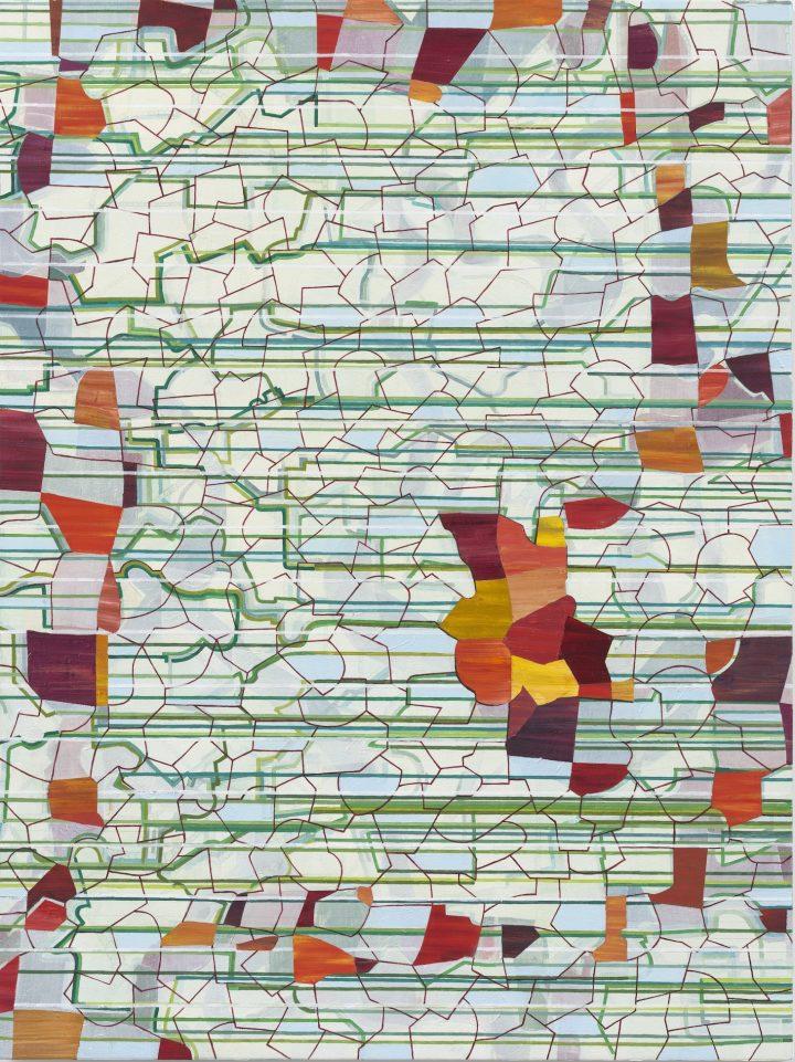 Lisa Corinne Davis Critiques Corporate America Through Abstract Art