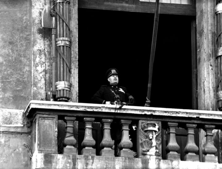 Trump Likened to Mussolini After Appearance on White House Balcony