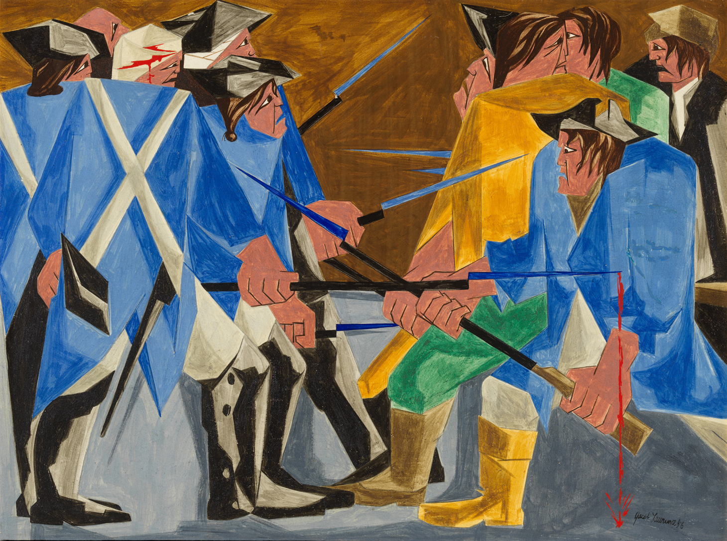 A Jacob Lawrence Painting, Thought Missing for Decades, Was in a NYC Apartment All Along