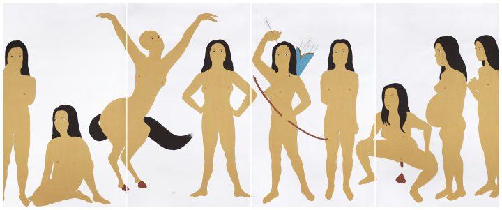 Kubra Khademi's Erotic and Coded Paintings of Women