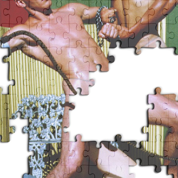 """Naked Bits"" Jigsaw Puzzles Celebrate Bodies Through Dynamic Photographs"
