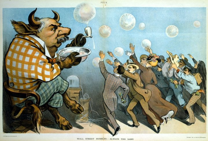 Bulls, Bears, and Others Symbols of Wall Street Protest Art