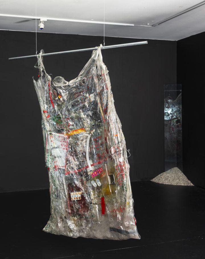 Zi Yi Wang's Full-Body Critiques of Consumerism