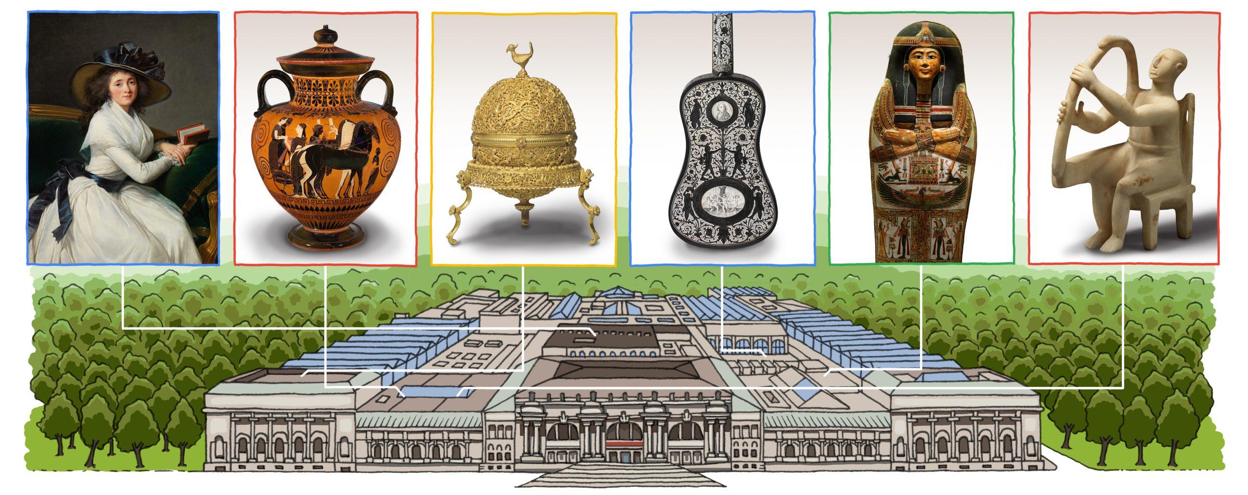 Google Doodle Celebrates the Metropolitan Museum's 151st Anniversary