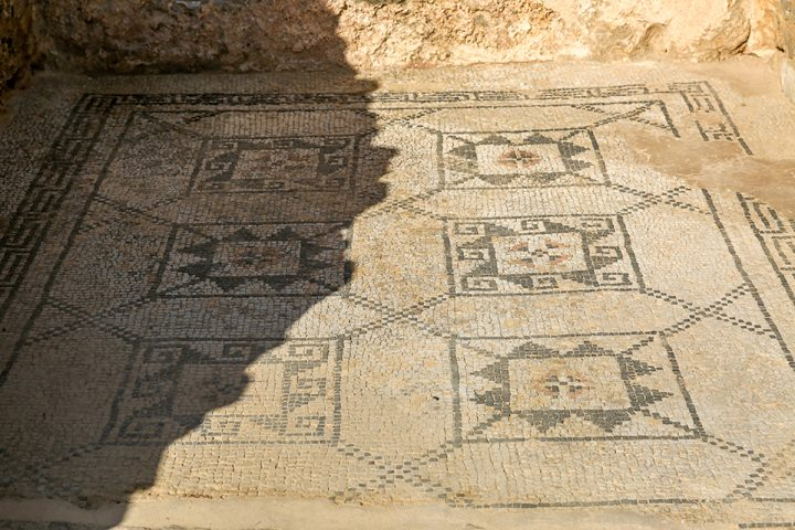 To Preserve Ancient Mosaics, Experts Are Burying Them Underground