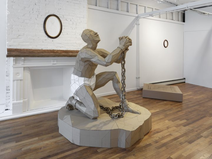 Do-It-Yourself Sculptures That Probe the White Savior Narrative