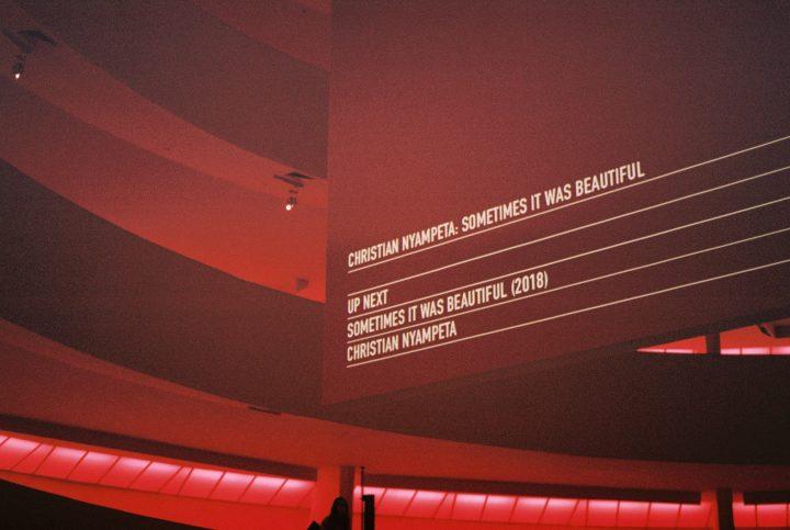 Christian Nyampeta Transforms the Guggenheim Into a Anti-Colonial Night School