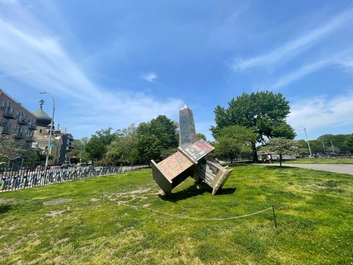 Plywood Obelisks Reflect on a Year of Racial Justice Protests