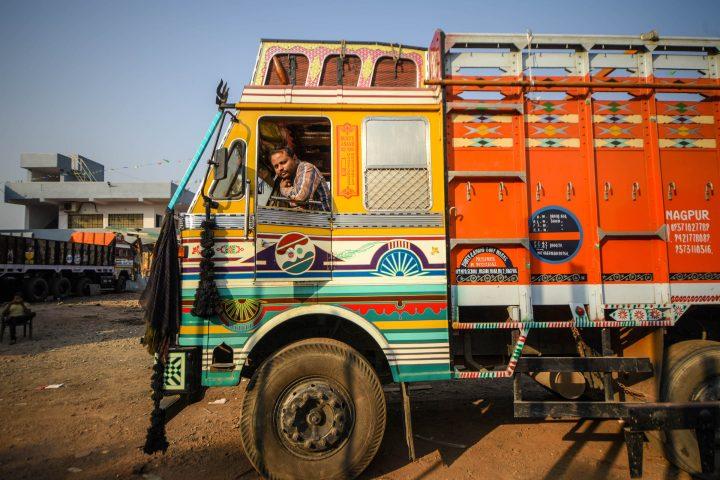 India's Vibrant and Idiosyncratic Truck Art
