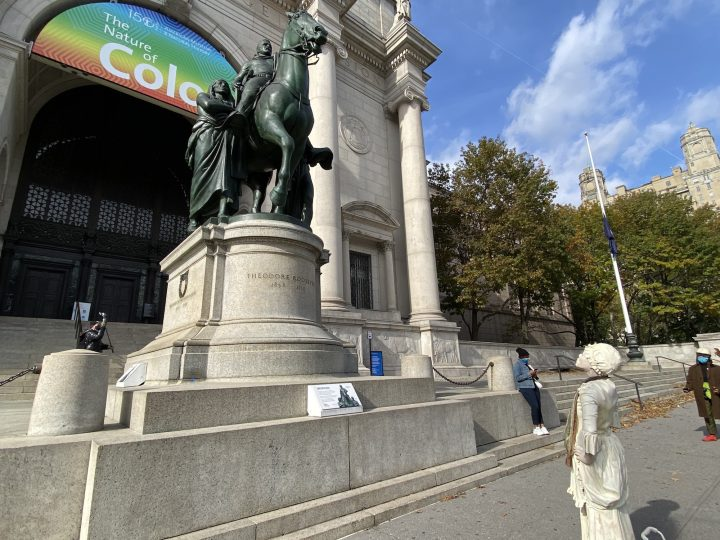 Why Is a Racist Roosevelt Statue Still Standing in New York City?