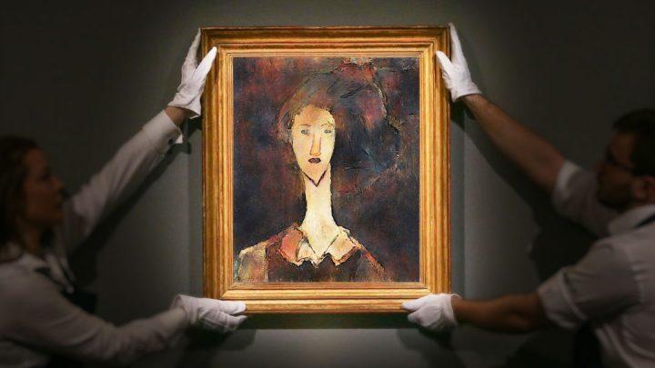 New Technology Reveals Hidden Modigliani Portrait