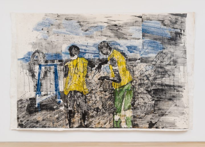 In Swirling Canvases, Gareth Nyandoro Expresses the Rhythms of Labor