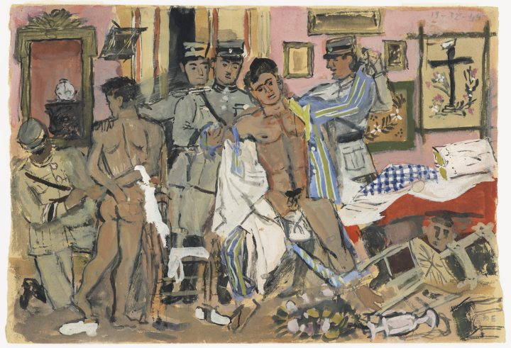 Frank, Greek, and Gay: Modernist Painter Yannis Tsarouchis Is Finally Getting His Due