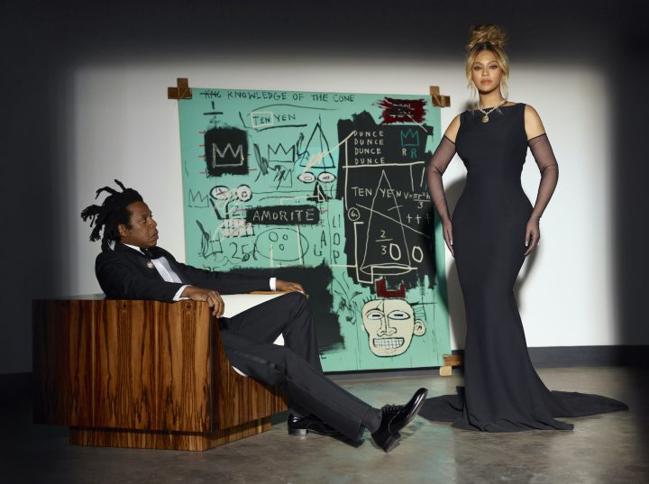 Tiffany's Wants You To Think They Inspired a Blue Basquiat Painting