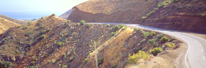 Mulholland Drive, Lushly Captured in Panorama