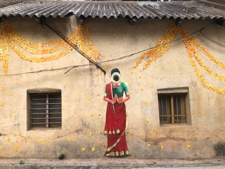 Take a Tour of This Artist-decorated Neighborhood in Bangalore