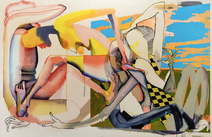 The Triumphant Tangles of Christina Quarles's Canvases