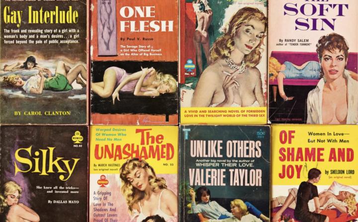 The Erotic Nostalgia of Lesbian Pulp Fiction