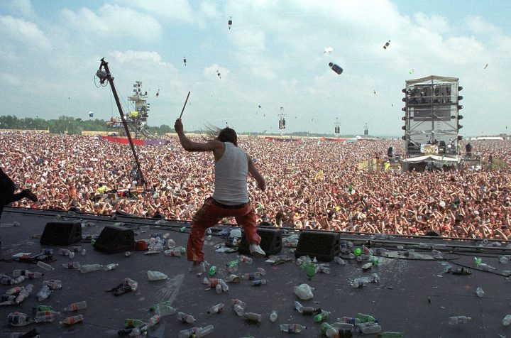 Looking Back at the Misbegotten Woodstock '99 Music Festival