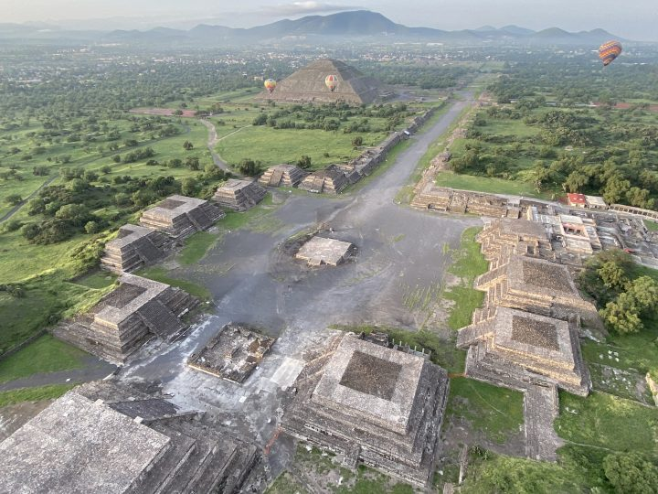 Aerial Scanning Illuminates Some of the Unknown History of Ancient City of Teotihuacán
