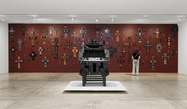 Altarpieces and Shrines Shaped From Found Objects