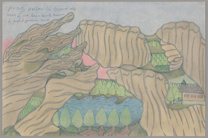 Adventure and Spirituality Collide in Joseph E. Yoakum's Visionary Art